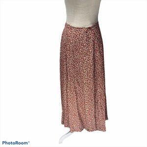 Moda Int. Women's Floral Button Front Dress S